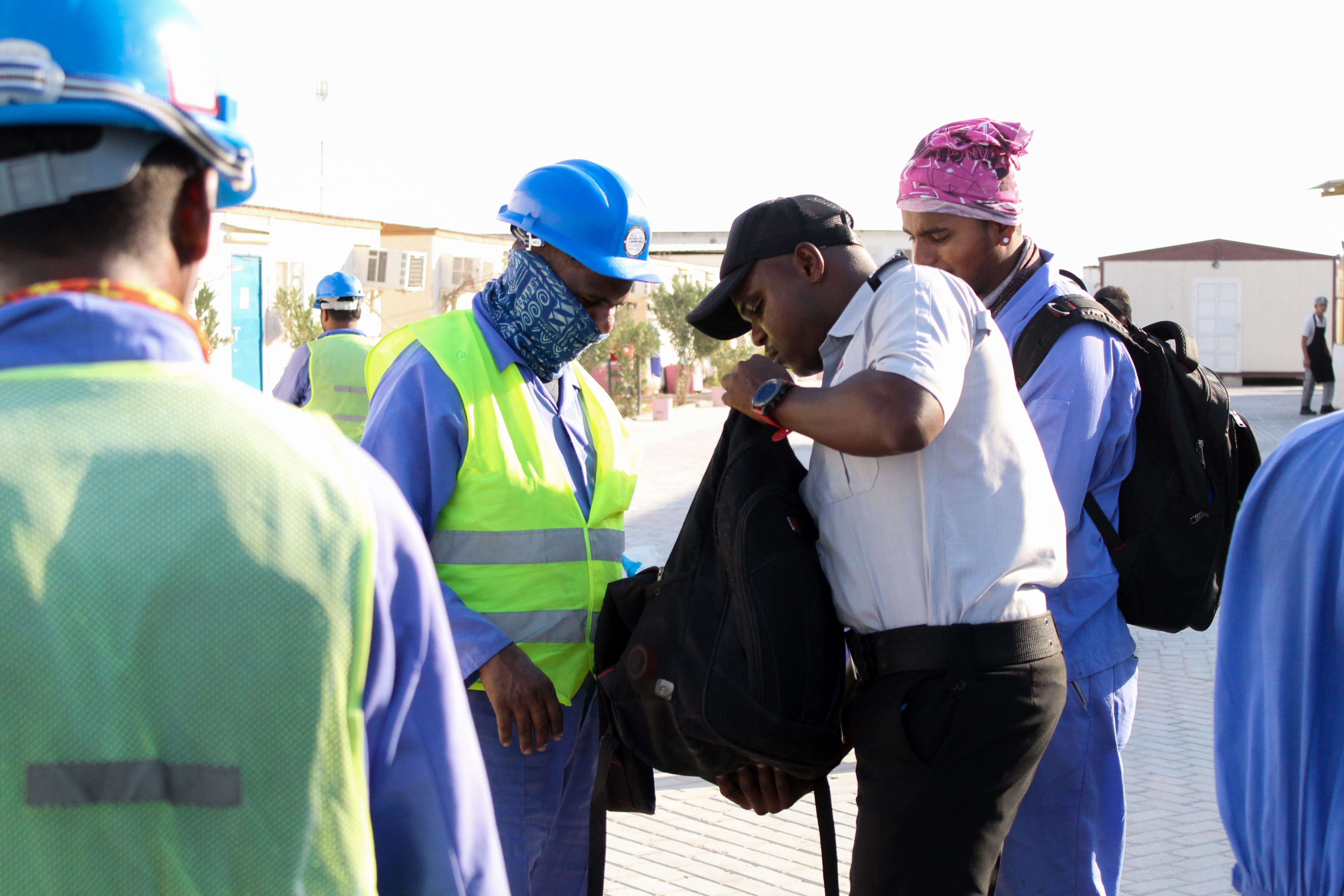 SECURITY INSPECTING WORKERS