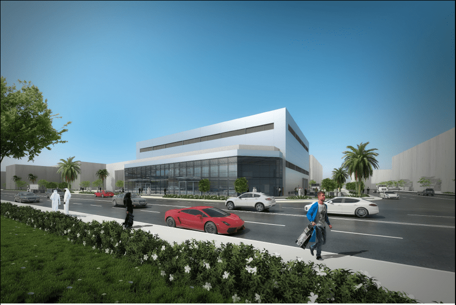 TRANSPORT STORE/ OFFICE/ SHOWROOM AT BIRKAT AL AWAMER – ONGOING