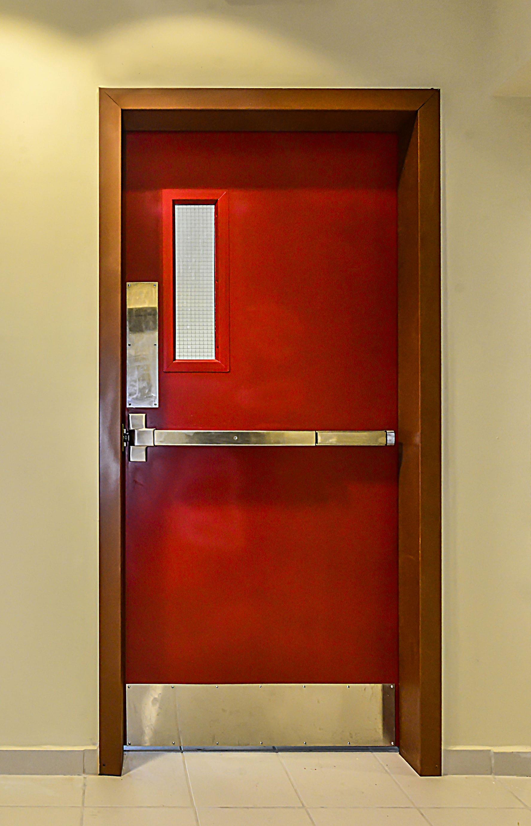 HOLLOW METAL FIRE RATED DOORS(HMD)