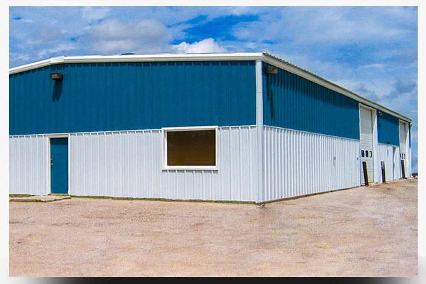 INDUSTRIAL SHEDS & HANGER CONSTRUCTION